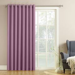 Madison Room-Darkening Sliding Glass Door Panel,