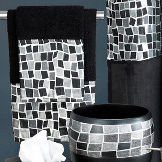 Mosaic Stone Bath Rug   ,