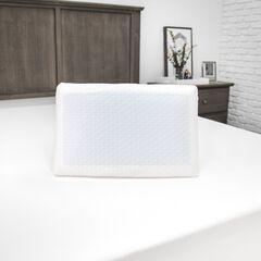SensorPEDIC Gel-Overlay Memory Foam Comfort Bed Pillow,