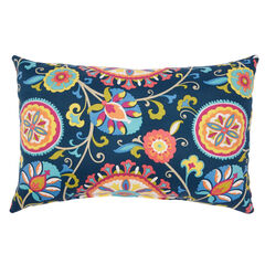 "20"" x 13"" Lumbar Pillow, GRANADA"