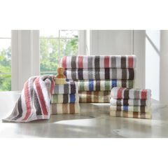 Super Soft Stripe Towel Collection,