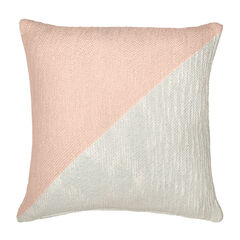 Colorblock Decorative Pillow,