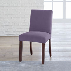 BrylaneHome® Studio Vera Stretch Velvet Dining Chair Slipcover,