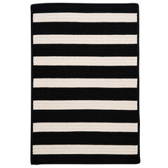 Bay Stripe Black Rug,