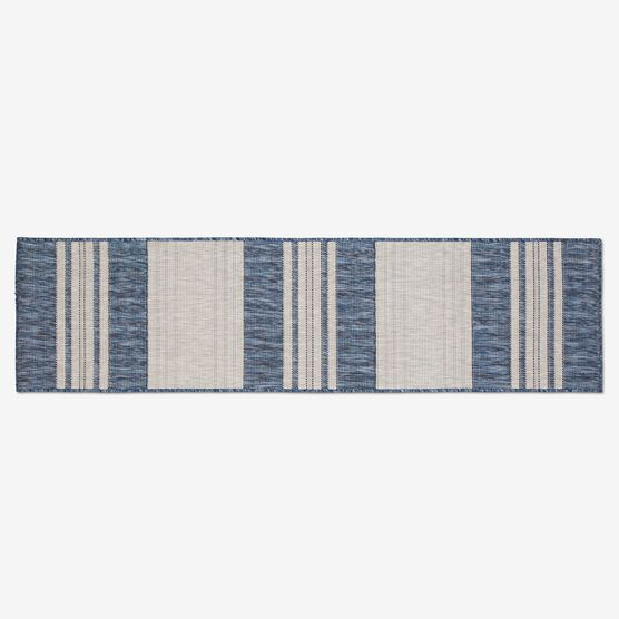 "Carmel Indoor/Outdoor Bold Stripe Rug 1'11"" x 7'6"","