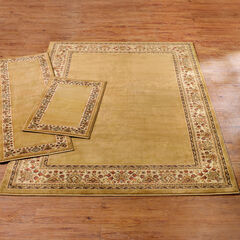 Decorative 3-Pc. Rug Set with Runner, GOLD IVORY