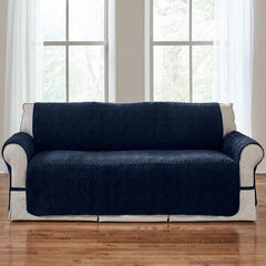 Plush Ultimate Sofa Protector, NAVY