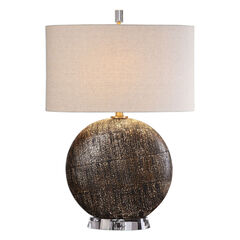 Chalandri Rust Bronze Lamp,