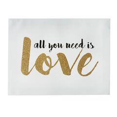 'All You Need Is Love' Canvas Art,