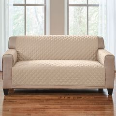 BH Studio® Water-Repellent Microfiber Loveseat Protector,
