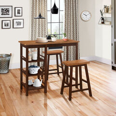 Tampa 3-Pc. Bar Table & Stools,