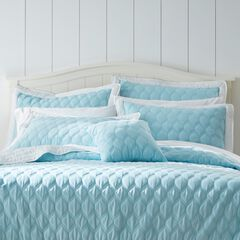 """Nantucket Quilted 16""""Sq. Pillow,"""
