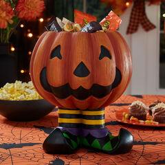 Jack-O-Lantern Candy Bowl,