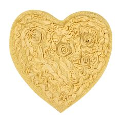 Bellflower Heart Bath Rug,