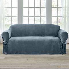 Velvet Sofa Slipcover,