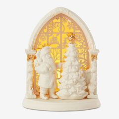 Lenox® Light-Up Santa Scene,