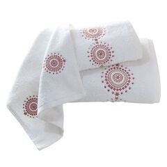 Estelle Embroidered 3-Pc. Towel Set,