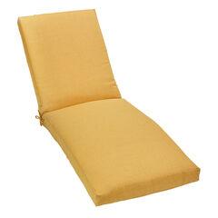 """84"""" Chaise Cushion, LEMON"""