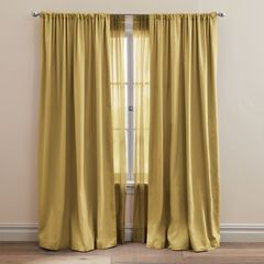 Taffeta Rod-Pocket Panel,