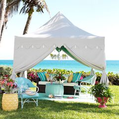 2-Tone Scalloped Party Gazebo,