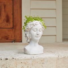 Lady Head Planter,
