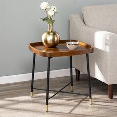 Morling Midcentury Modern Square End Table,