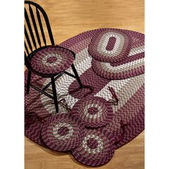 Alpine Braid Collection Offers Great Value Reversible Indoor Area Rug, 7 Piece Set ,