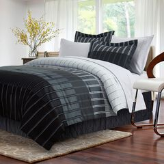 Ombre Stripe Grey Bed-In-Bag,