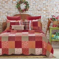 Country Fair Red Quilt Set by Barefoot Bungalow,