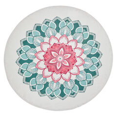 Aria Round Beach Towel,
