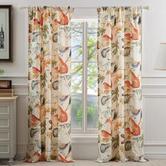 Willow Curtain Panel Pair ,