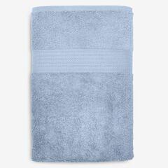 BH Studio Oversized Cotton Bath Sheet, WEDGEWOOD BLUE
