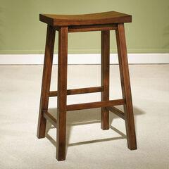"Honey Brown Bar Stool, 29"" Seat Height ,"