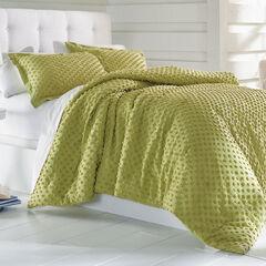 Piper Chenille Dot Comforter,