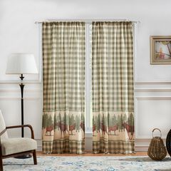 Moose Creek Curtain Panel Pair by Greenland Home Fashions,