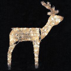 3D Standing Reindeer,
