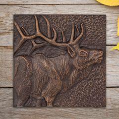 Elk 8' x 8' Indoor Outdoor Wall Décor,