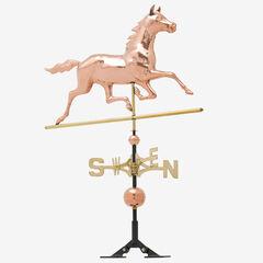 Copper Horse Weathervane,