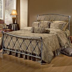 Queen Bed with Bed Frame, 83½'Lx61½'Wx48½'H,