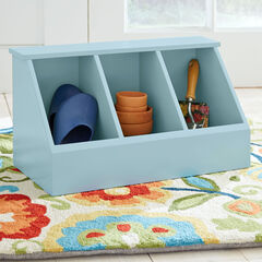 Brooke 3-Cubby Storage, LIGHT BLUE