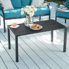 Steel Slat Coffee Table,