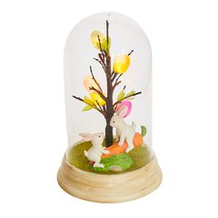 LED Easter Bunny Globe,