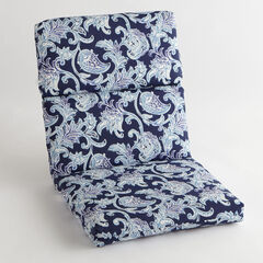 Universal Chair Cushion, LAHAYE INDIGO