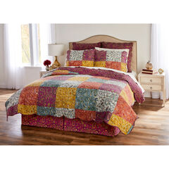 Traditional Paisley 6-PC. Quilt Set,