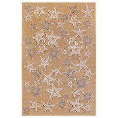 Liora Manne Carmel Starfish Indoor/Outdoor Rug,