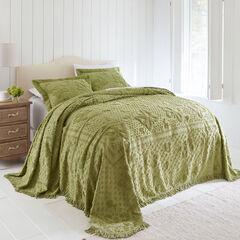 Butterfly Chenille Bedspread,