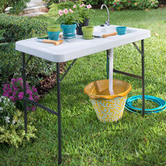 Outdoor Sink Table,