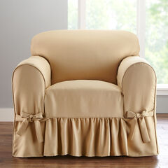 Chair Slipcover, NATURAL