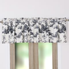 Classic Toile Window Valance by Greenland Home Fashions,