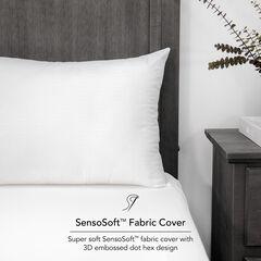 SensorPEDIC Embossed SensoSoft Jumbo Bed Pillow,